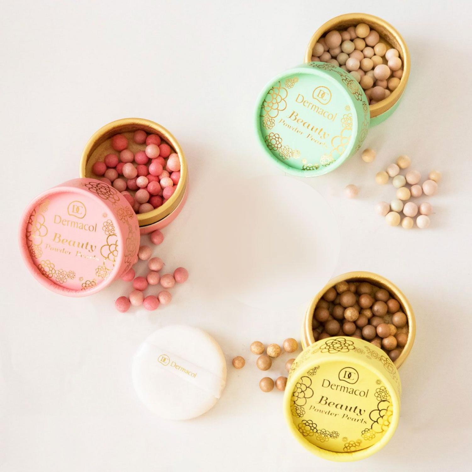 Beauty powder pearls od Dermacol