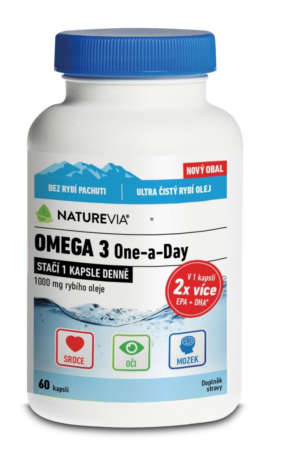 Naturevia Omega 3 One-a-Day Foto: Naturevia